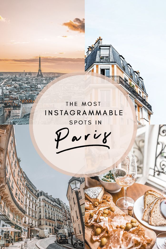 Der ultimative Paris-Reiseführer zu den insta wertvollsten Orten der Stadt! Von