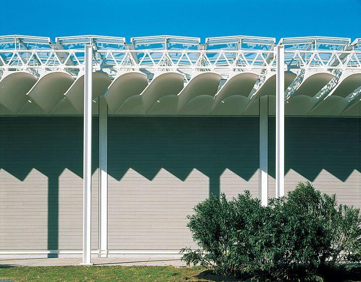 renzo piano roof - Menil