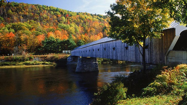 Cornish, New Hampshire: Travel Channel, Cornish Windsor Bridges, Fall Foliage, Cornishwindsor Bridges, Covered Bridges, Covers Bridges, Foliage Travel, New Hampshire, Autumn Splendor