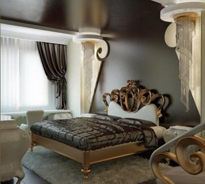 Modern Art Deco Style Bedroom