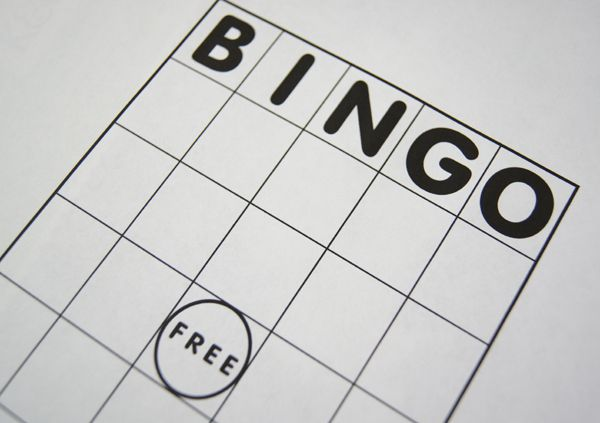 Free bingo card printable to customize for whatever occasion you may need a game.