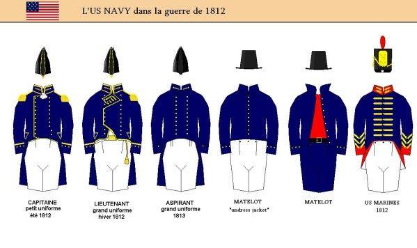 La flotte américaine au sortir de la guerre d'indépendance ne représente pas une force importante, d'autant plus qu'en l'abscence d'ennemi des réductions d'effectifs touchant aussi bien l'armée de terre que la marine ont diminué le nombre de ses unités....