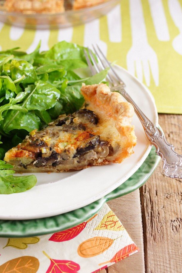 Savory Mushroom Shallot Pie for French Fridays with Dorie ...