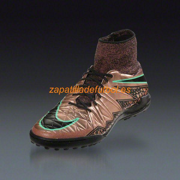 on sale f724f 4b486 ... salida zapatillas futbol sala nike hypervenom x proximo tf negro rojo  metalico bronce verde respland