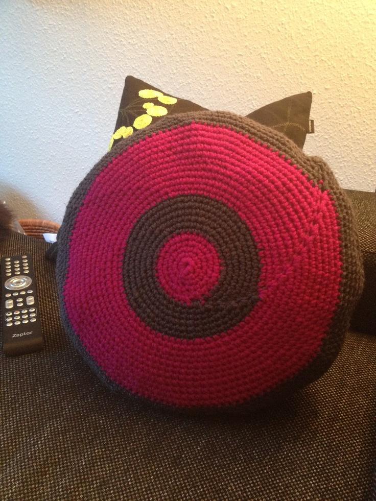 Crochet pillow for a friend
