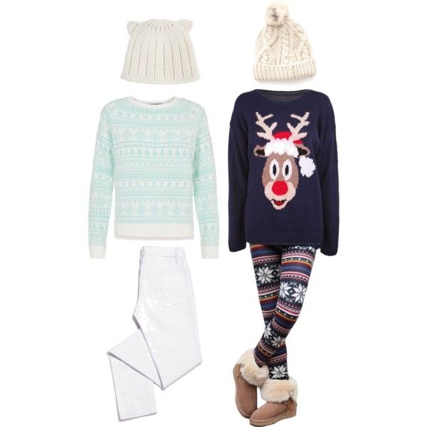 Hipster winter Elsa and Anna (Frozen)