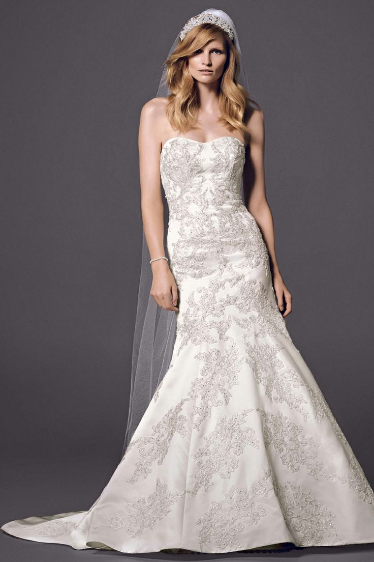 Oleg cassini at david 39 s bridal when you wish upon a star for Wedding dress shops in okc