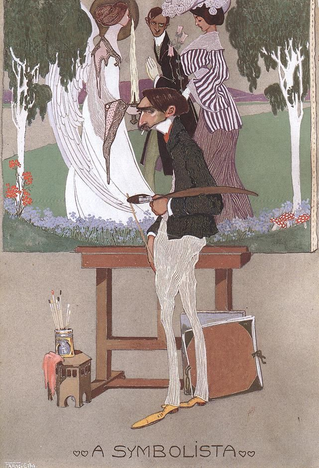 Géza Faragó - The Symbolist (1908)