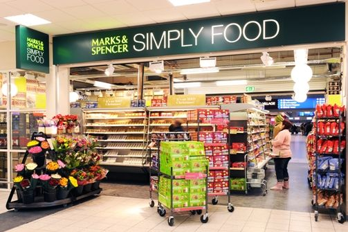 simply food entrance