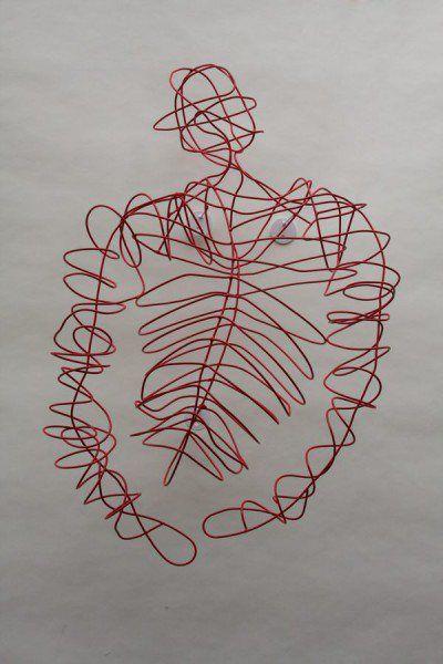 45 best Skulpturen aus Draht, Papier ... images on Pinterest | Wire ...