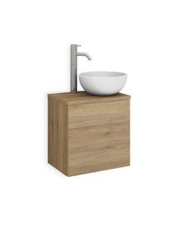 COVA 29 Keramik Waschtisch-Set nach Maß mit 1 Tür
