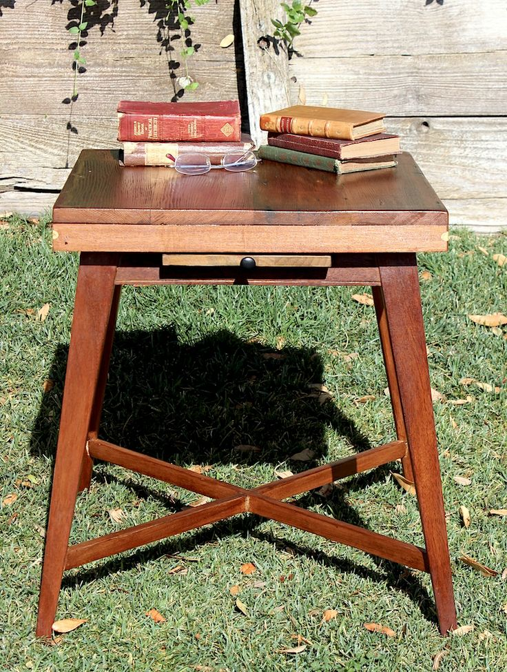 Restored end tables