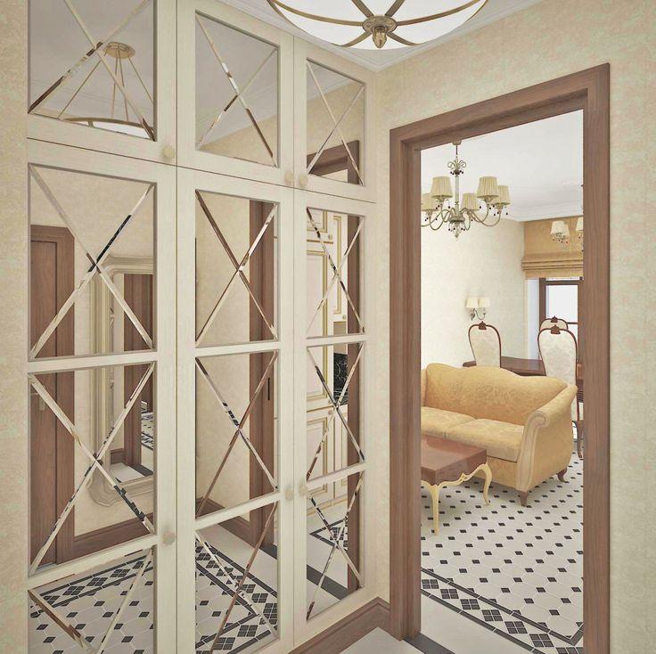 Интерьер прихожей. #inscalestudio #interiordesign #designstudio #interior #design #hall #luxuryinterior #luxury / красивые квартиры / дизайн квартир / идеи для дома / интерьер / дизайн студия Петербург / классика /