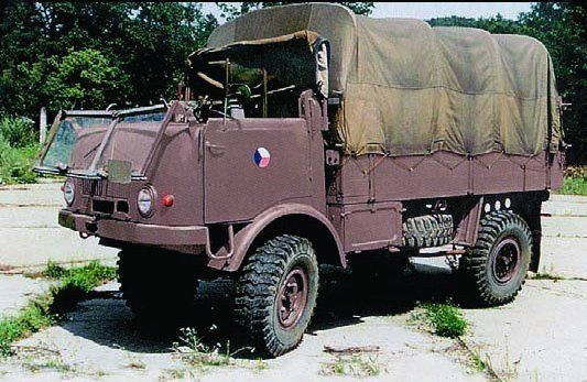 Tatra T805 4x4 Air Transportable /1955/