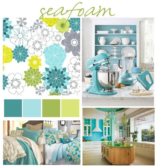 Turquoise and lime decorating ideas