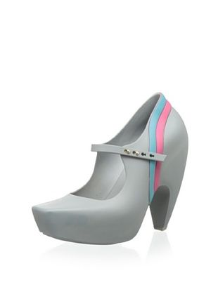 58% OFF Melissa Women's Ginga and Karl Lagerfeld (Grey Pink Blue)