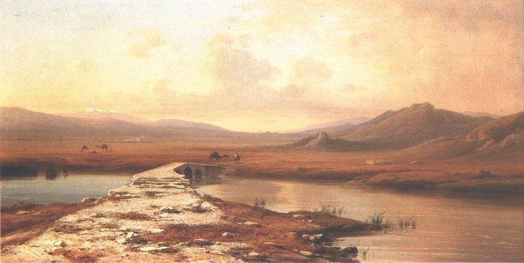 Mont Liban et l Anti-Liban de Antal Ligeti (1823-1890, Romania)