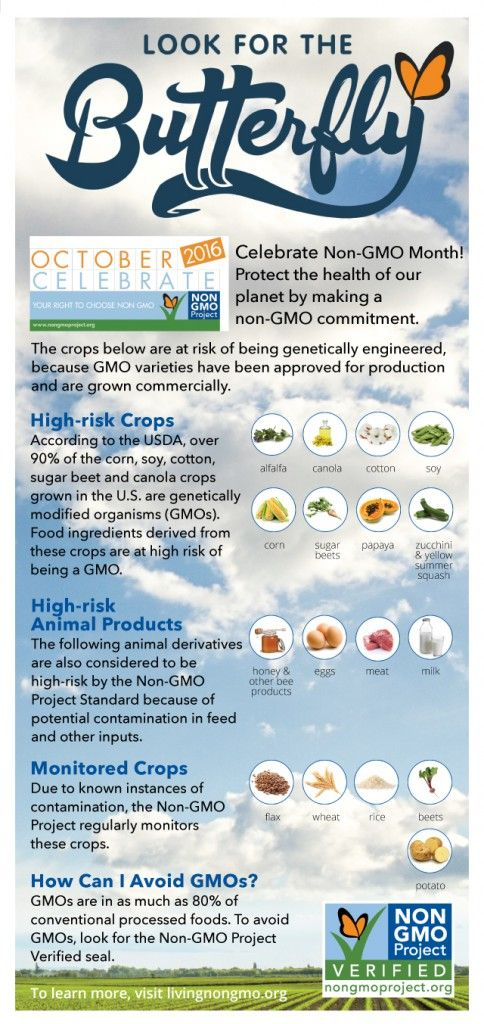 October is Non-GMO Month at Harvest Market! #october #nongmo