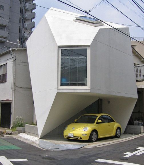 I'm always so impressed by Japanese architecture. :O