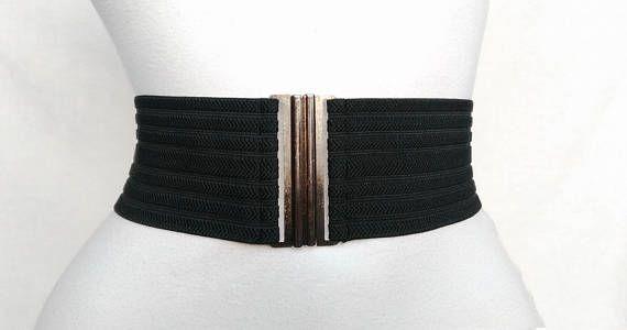 589ec01336c Women s Wide Stretch Black belt BEST SELLING Elastic Waist