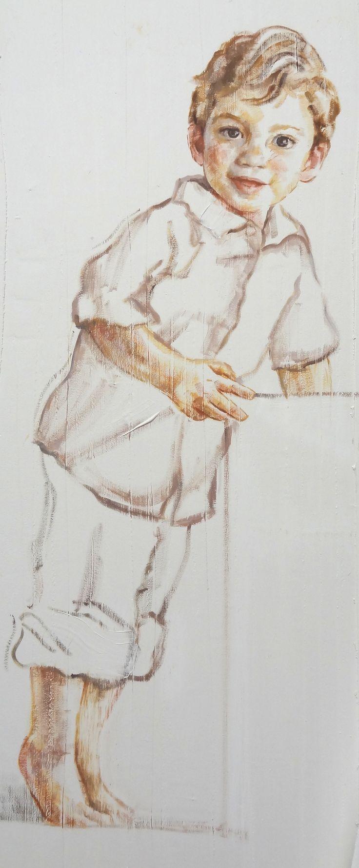niño retrato-M. Isabel Barros Alcalde
