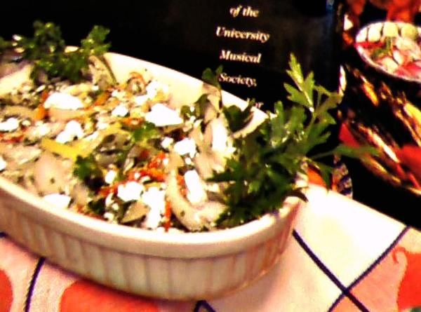 Walla Walla Onion and Feta Salad Recipe