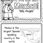 "This ""All About Mexico"" booklet can be used for a very basic country study in lower elementary grades!  Just print out the pages, have kids cut alo..."