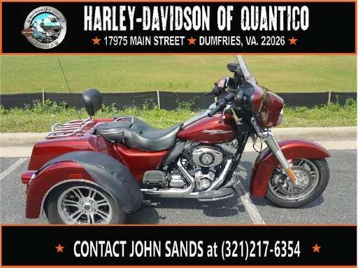Check out this 2010 Harley-Davidson FLHXXX - Street Glide Trike listing in Dumfries, VA 22026 on Cycletrader.com. It is a Trike Motorcycle and is for sale at $22995.