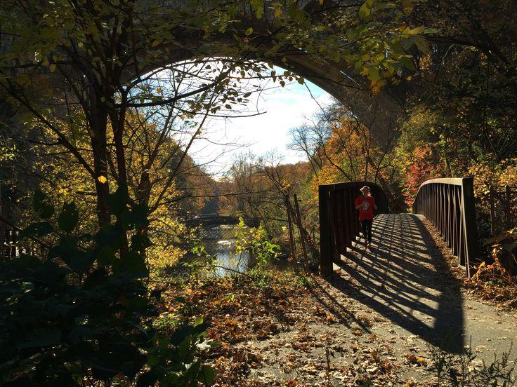 Wissahickon Creek Trail in Philadelphia, PA