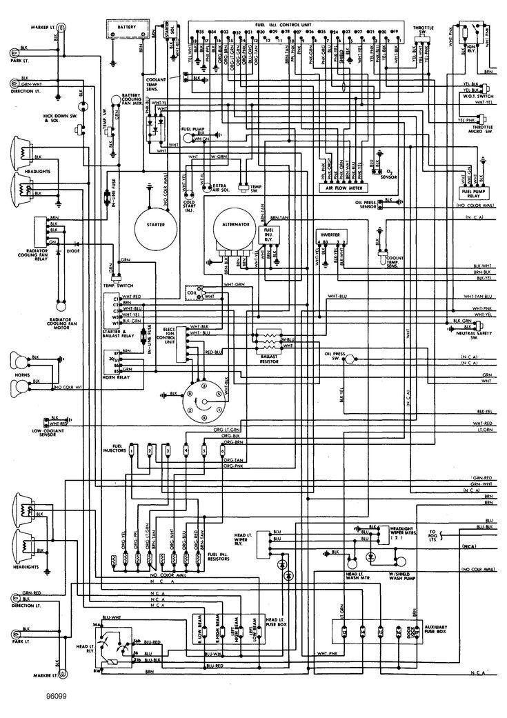 2000 Mercury Grand Marquis Wiring Diagram