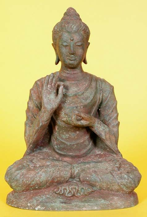 Buddha Poses and Posture: The Meanings of Buddha Statures - > The Teaching Buddha / DharmaChakra