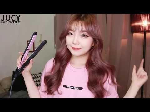Korean-style hair (How to curl hair like Korean Idols)  YouTube