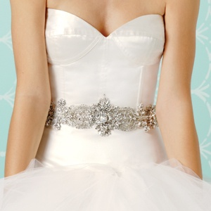 Waist details can add a realy nice touch to some gowns.