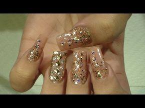 San Valentin Nail Design - Natos Nails - Uñas Acrilicas - YouTube