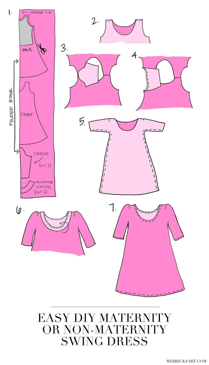 Merrick's Art // Style + Sewing for the Everyday Girl: DIY FRIDAY: VALENTINE'S DAY SWING DRESS