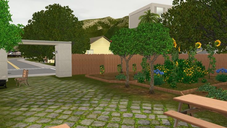 Mod The Sims - Pastoria Community Garden