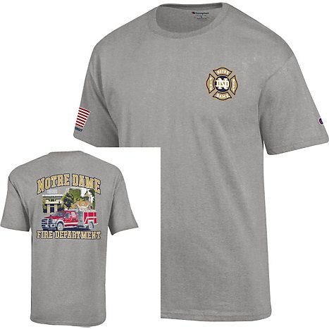 1000 images about notre dame fire department on pinterest for Notre dame tee shirts