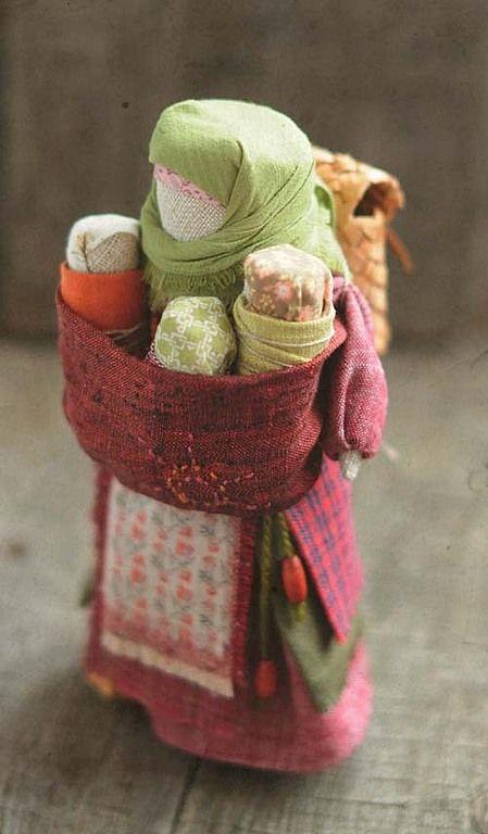"""Купить Кукла-оберег мамушка """"...в пути"""". - народная кукла, кукла, кукла-оберег, оберег"""