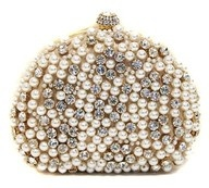 pearls and rhinestones