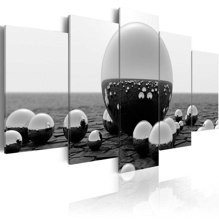Obraz kule #balls #modern #art #monochromatic #decor