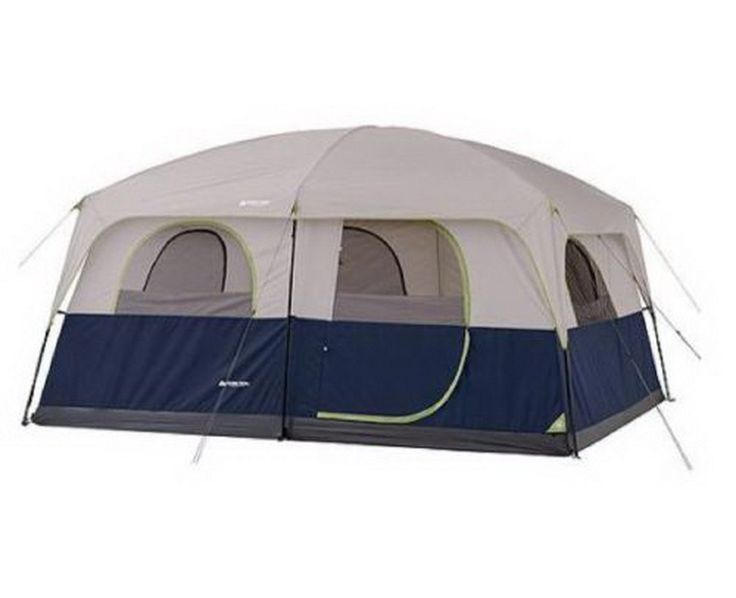 10 Person Tent 2 Rooms Instant Outdoor Family Trail Hunting Camping Cabin Wall >> See this great image  : Hiking tents
