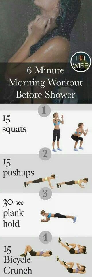 Morning workout!: