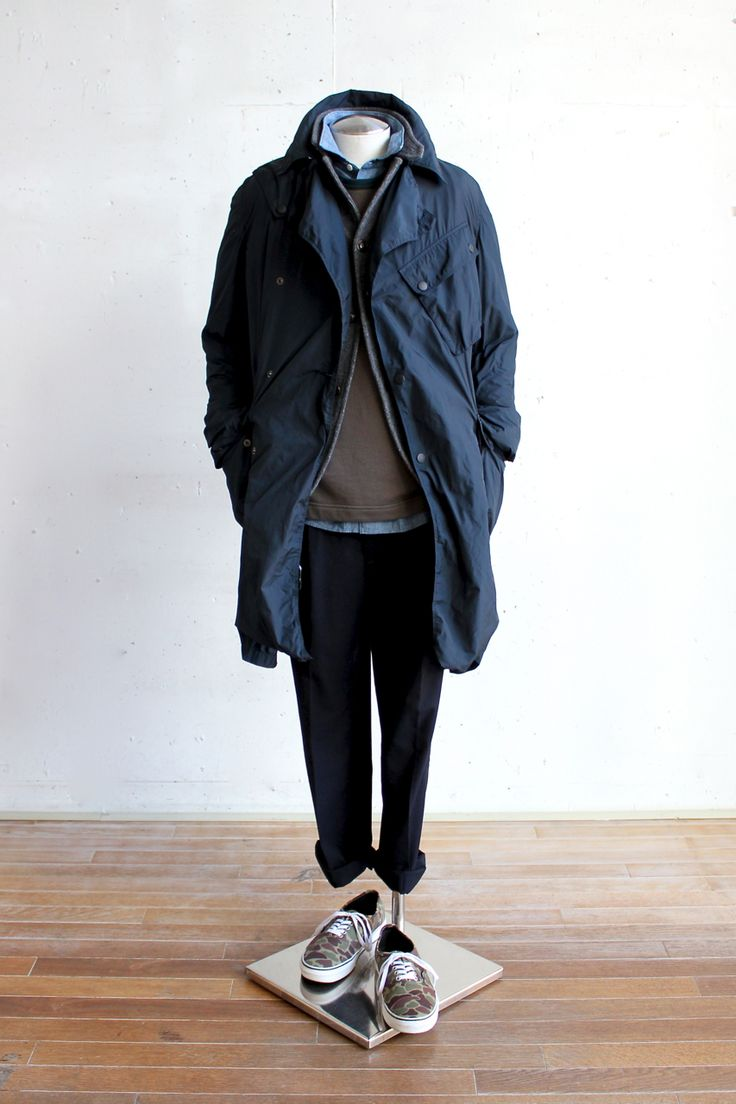Suggestion of The Men's Winter Coat Style vol.2