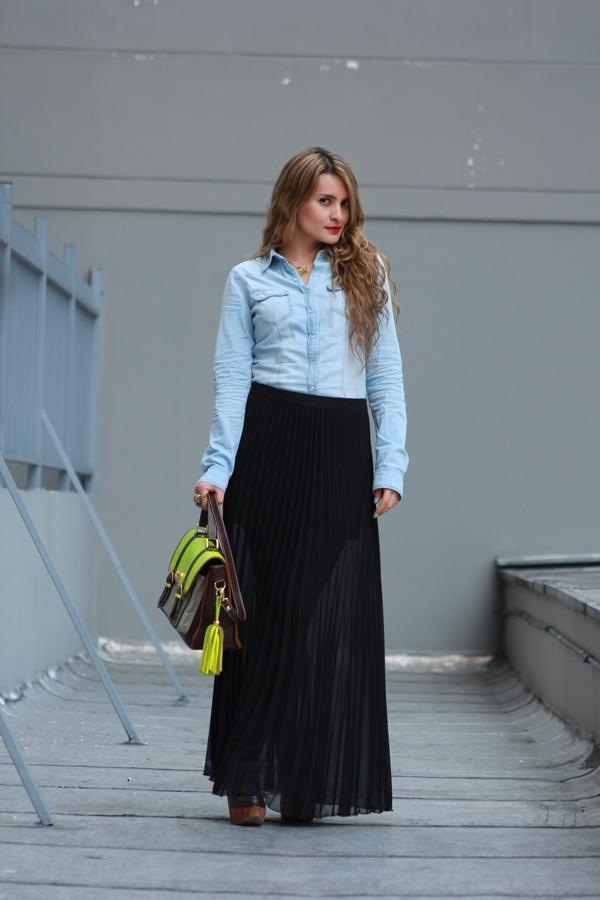 maxifalda+camisajean #miblog