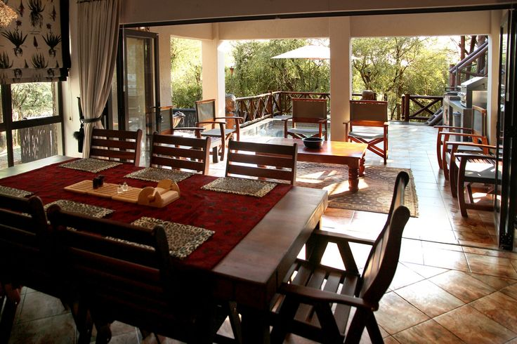 Perfect setup to enjoy your breakfast, lunch & dinner @ Eden Safari Country House