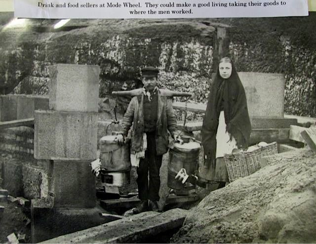 Feeding the Navvies at Mode Wheel Weaste Manchester Ship Canal