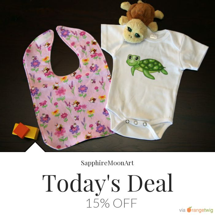 Today Only! 15% OFF this item.  Follow us on Pinterest to be the first to see our exciting Daily Deals. Today's Product: Baby Onesie and Bib Gift Set (1 Onesie, 1 Bib) Buy now: https://small.bz/AAgdyAk #etsy #etsyseller #etsyshop #etsylove #etsyfinds #etsygifts #musthave #loveit #instacool #shop #shopping #onlineshopping #instashop #instagood #instafollow #photooftheday #picoftheday #love #OTstores #smallbiz #sale #dailydeal #dealoftheday #todayonly #instadaily #instasale…