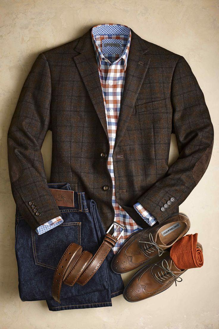 Fall blazer look