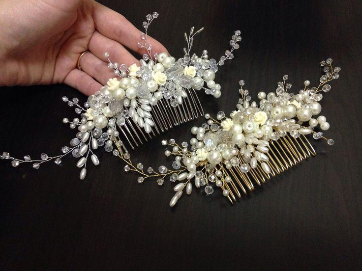 Купить свадебный гребень для волос
