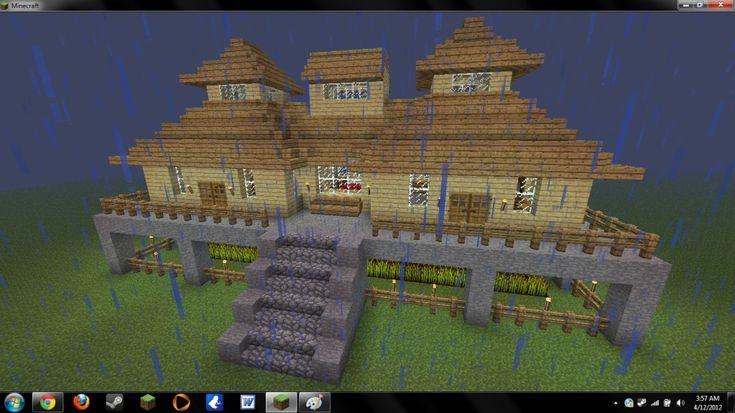 Good mansion designs minecraft seeds